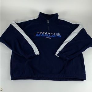 Toronto Marlies AHL CCM Fleece Pullover Jacket